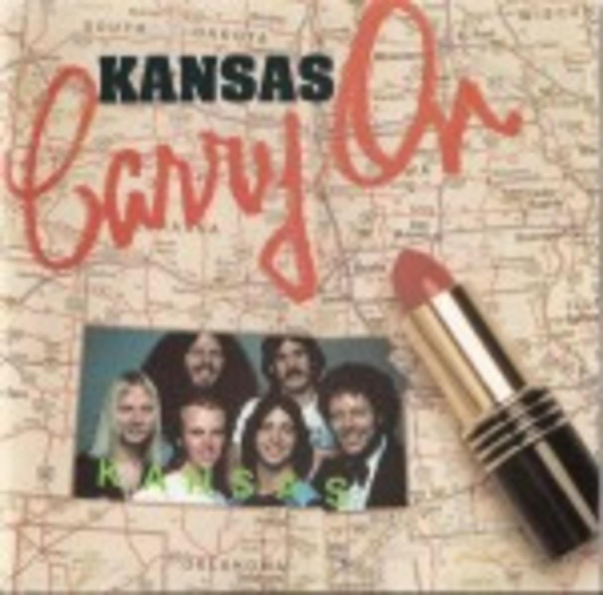 Kansas Carry On Lipstick album cover