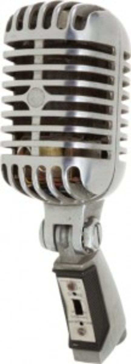 Microphone used by Elvis Presley