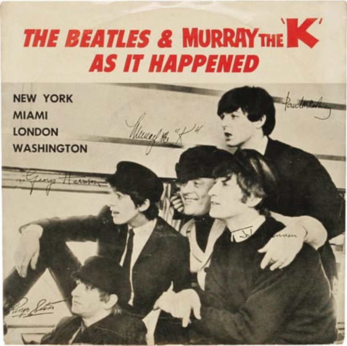 The Beatles and Murray The K As It Happened