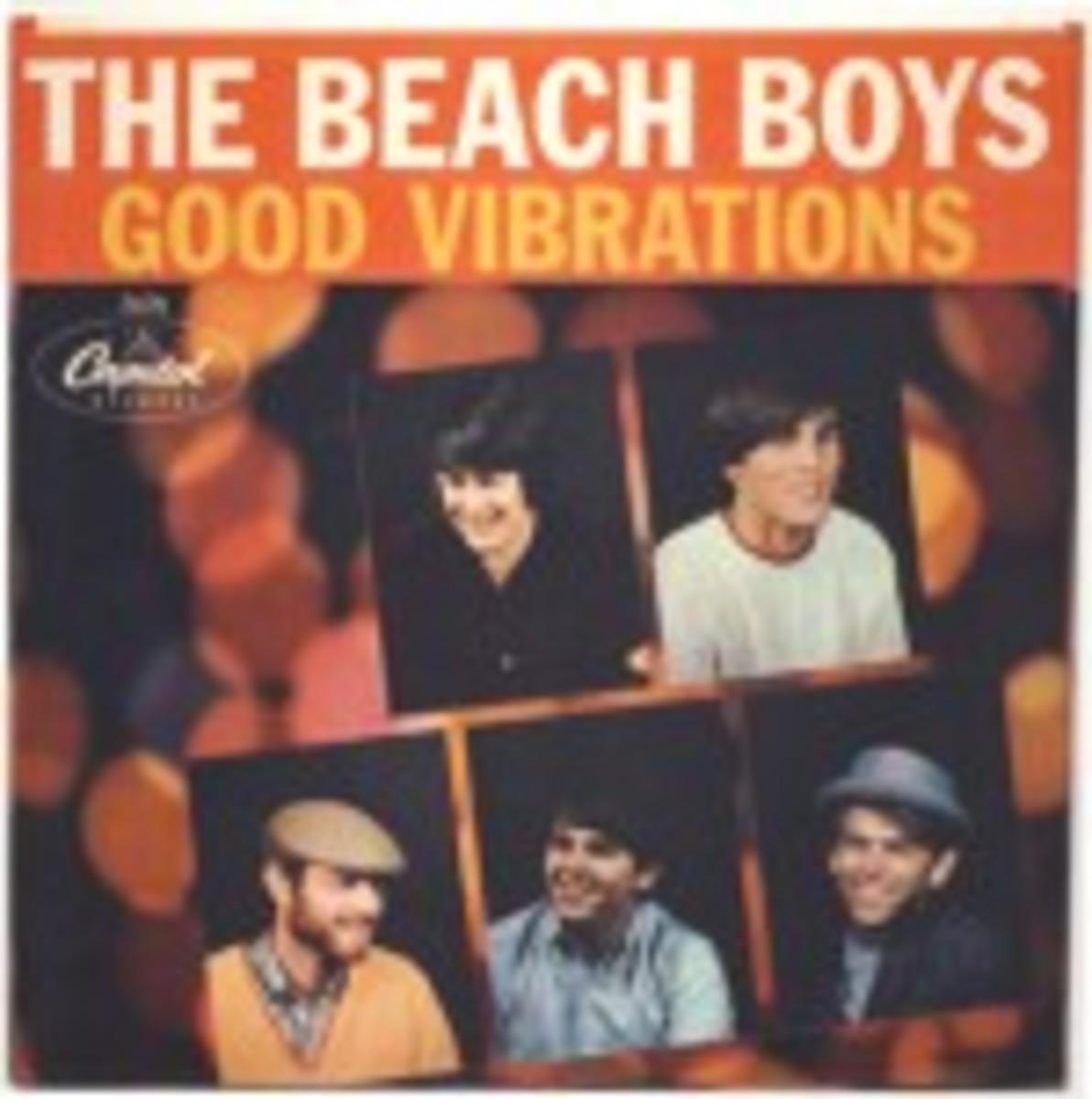 Beach Boys Good Vibrations picture sleeve