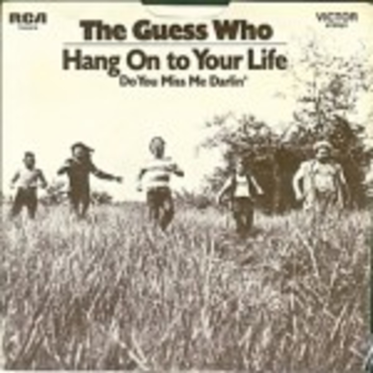 The Guess Who Hang On To Your Life picture sleeve