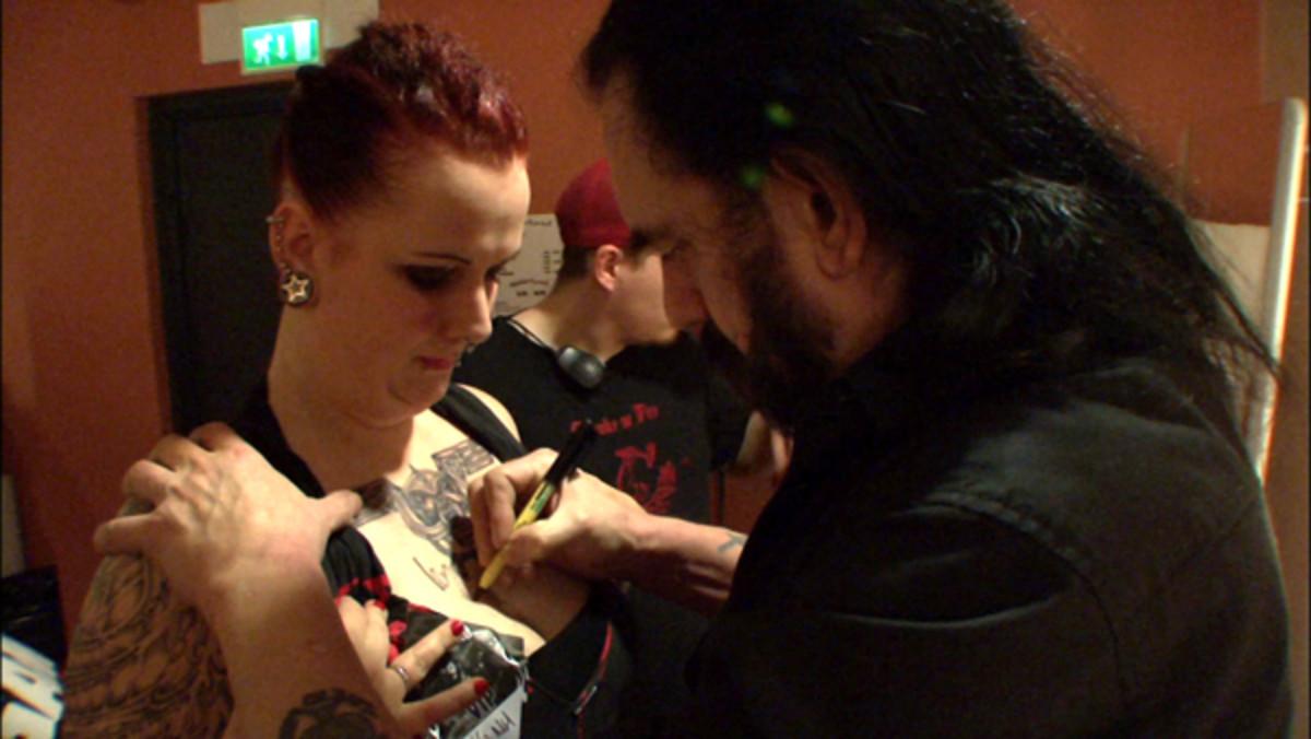 Lemmy Motorhead Autograph