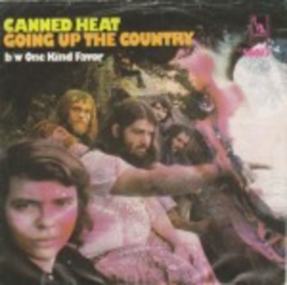 Canned Heat Going Up In The Country picture sleeve