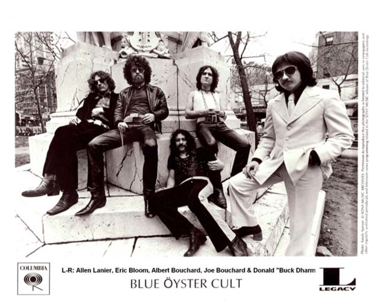 Blue Oyster Cult publicity photo