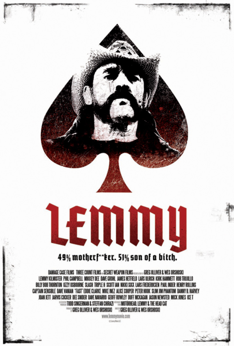 Lemmy The Movie Poster