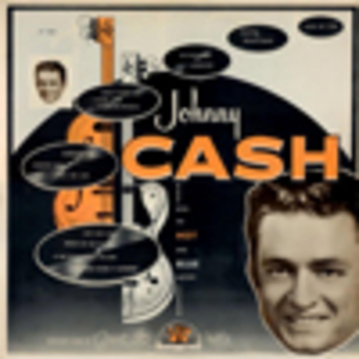 Johnny Cash Hot and Blue Guitar