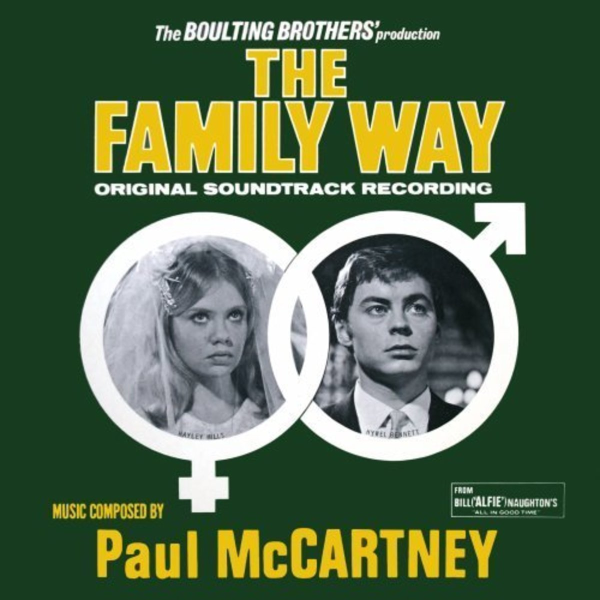 Paul McCartney The Family Way Soundtrack