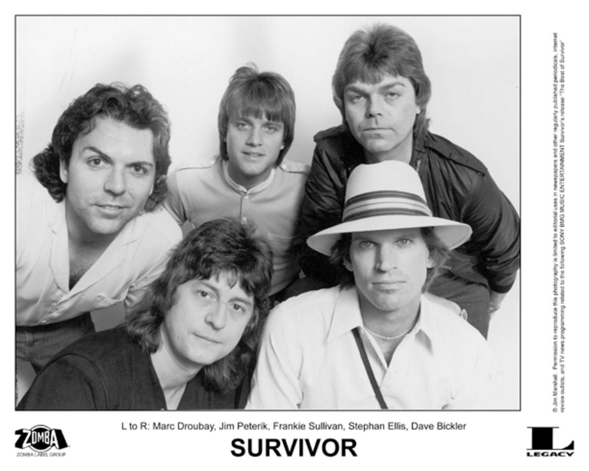 Survivor pre-Jimi Jamison era
