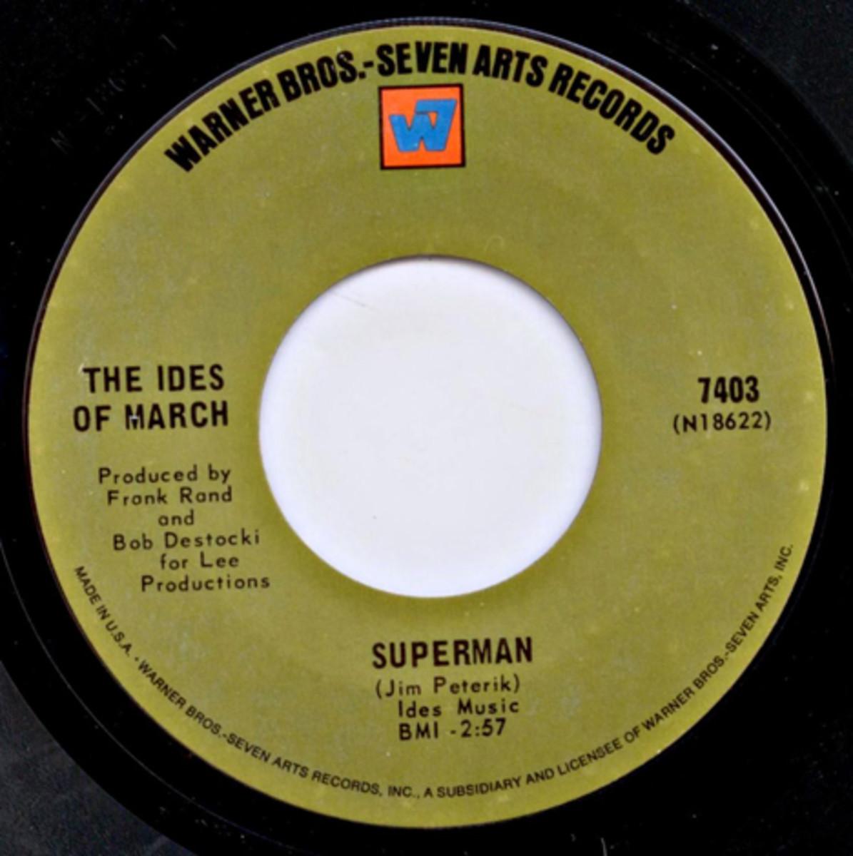 Ides of March Superman written by Jim Peterik