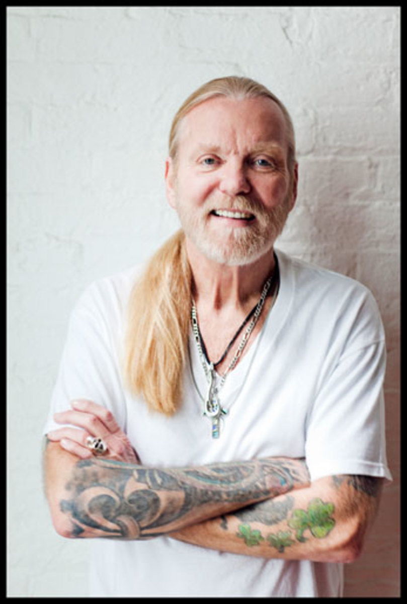 """A MODEST Gregg Allman says this of """"Low Country Blues,"""" his new, critically- acclaimed solo album: """"All we did was go into the studio to cut some tunes."""" (Danny Clinch/Courtesy Big Hassle Media.)"""
