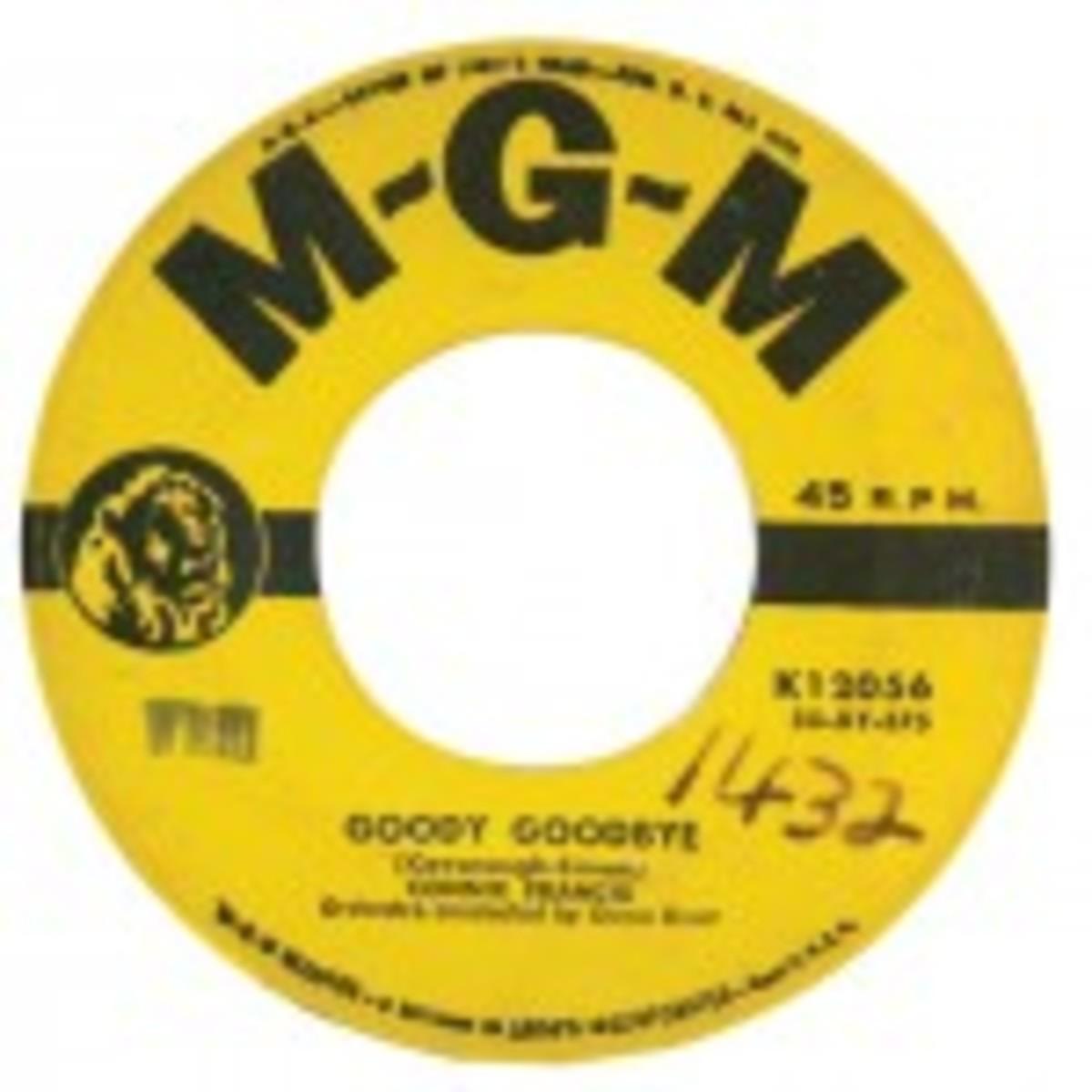 Connie Francis Goody Goodbye