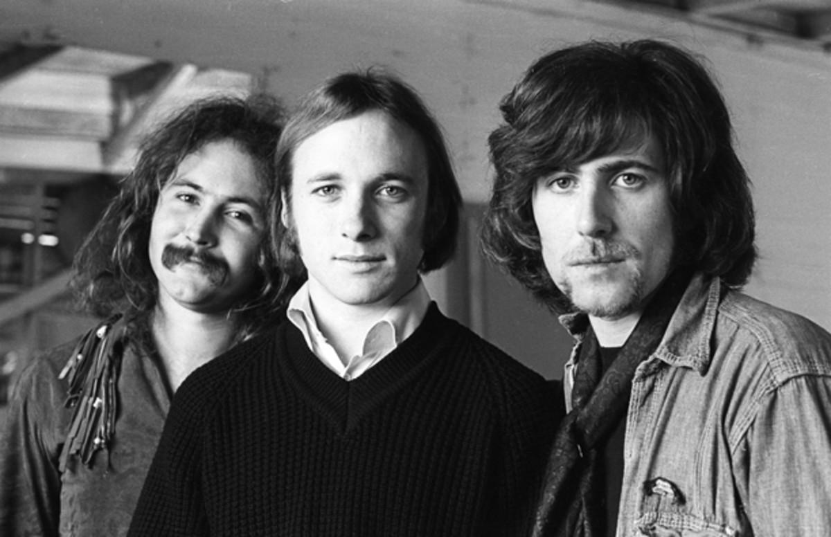 David Crosby Stephen Stills and Graham Nash in 1969