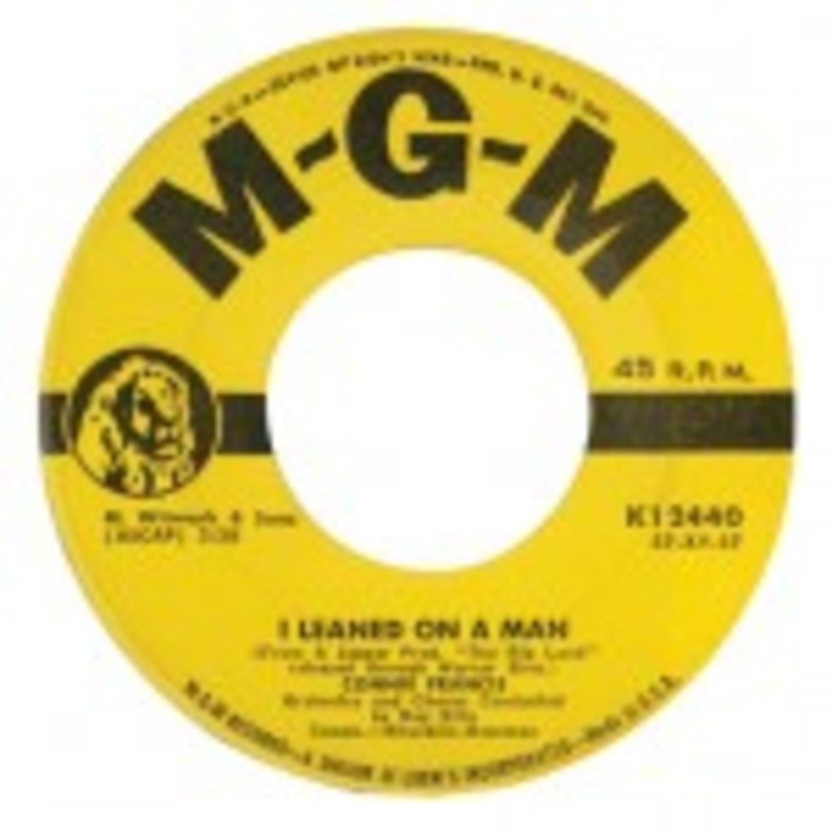 Connie Francis I Leaned On A Man