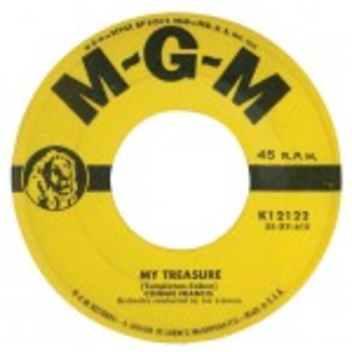 Connie Francis My Treasure