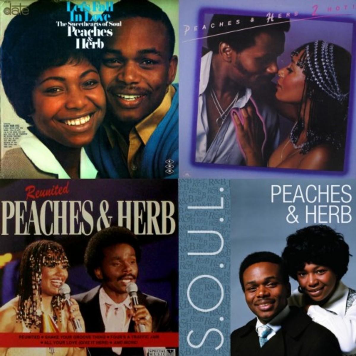 Peaches & Herb Collage