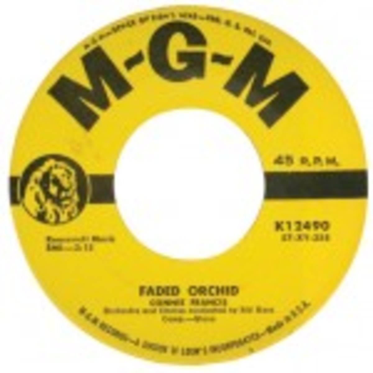 Connie Francis Faded Orchid