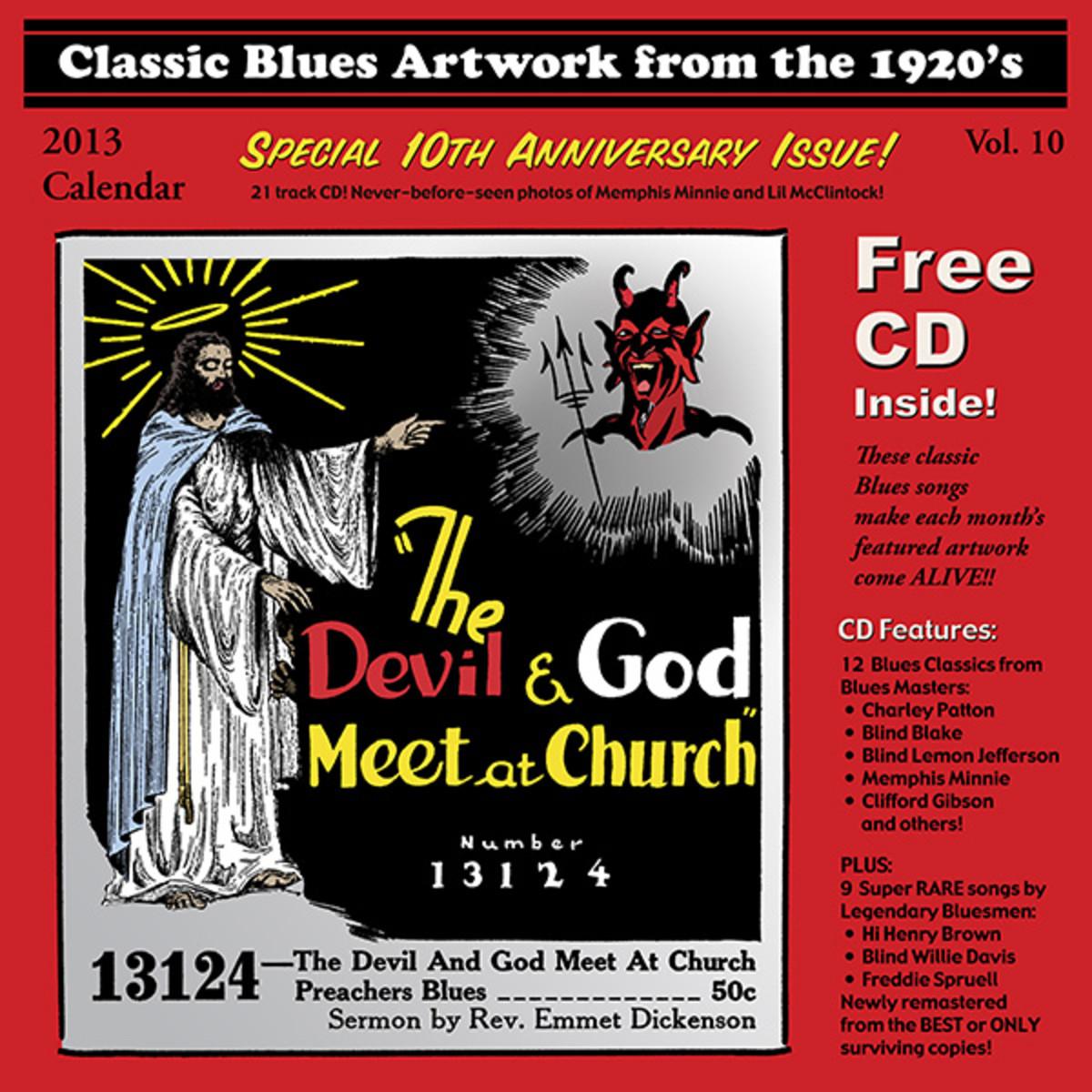 2013 Blues Images Calendar