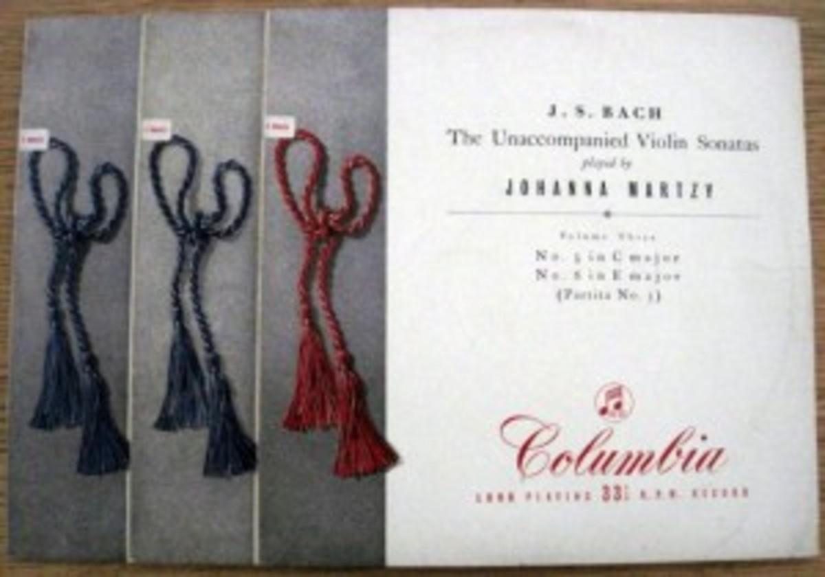 Johanna Martzy J.S. Bach The Unaccompanied Violin Sonatas