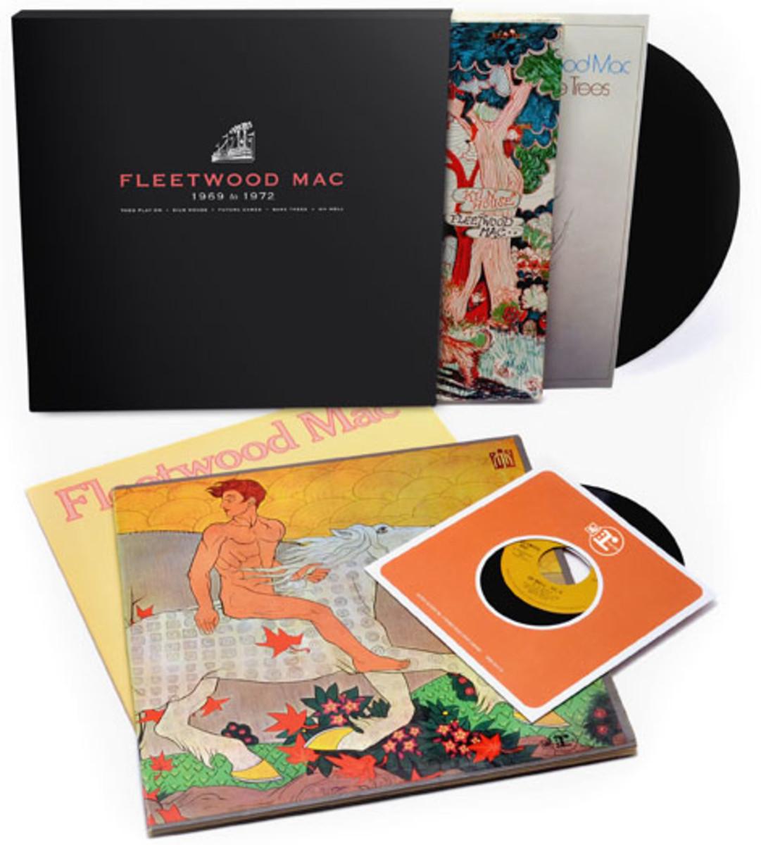 Fleetwood Mac 1969 to 1972 Rhino vinyl box set