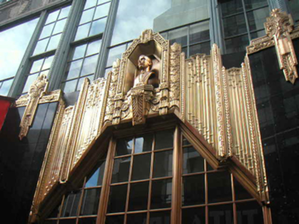 The Brill Building in New York City