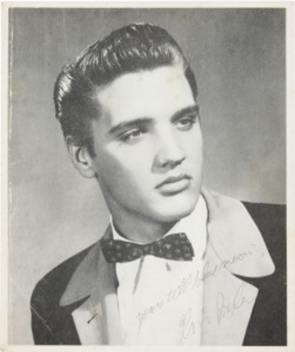 Elvis Presley Tuxedo 1954