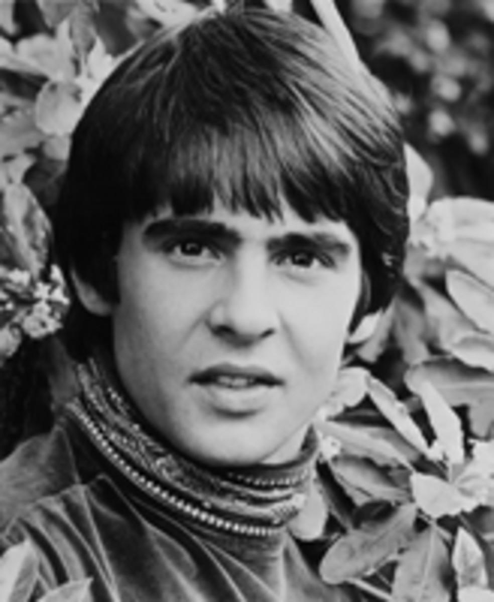 Davy Jones publicity photo courtesy Rhino/Henry Diltz