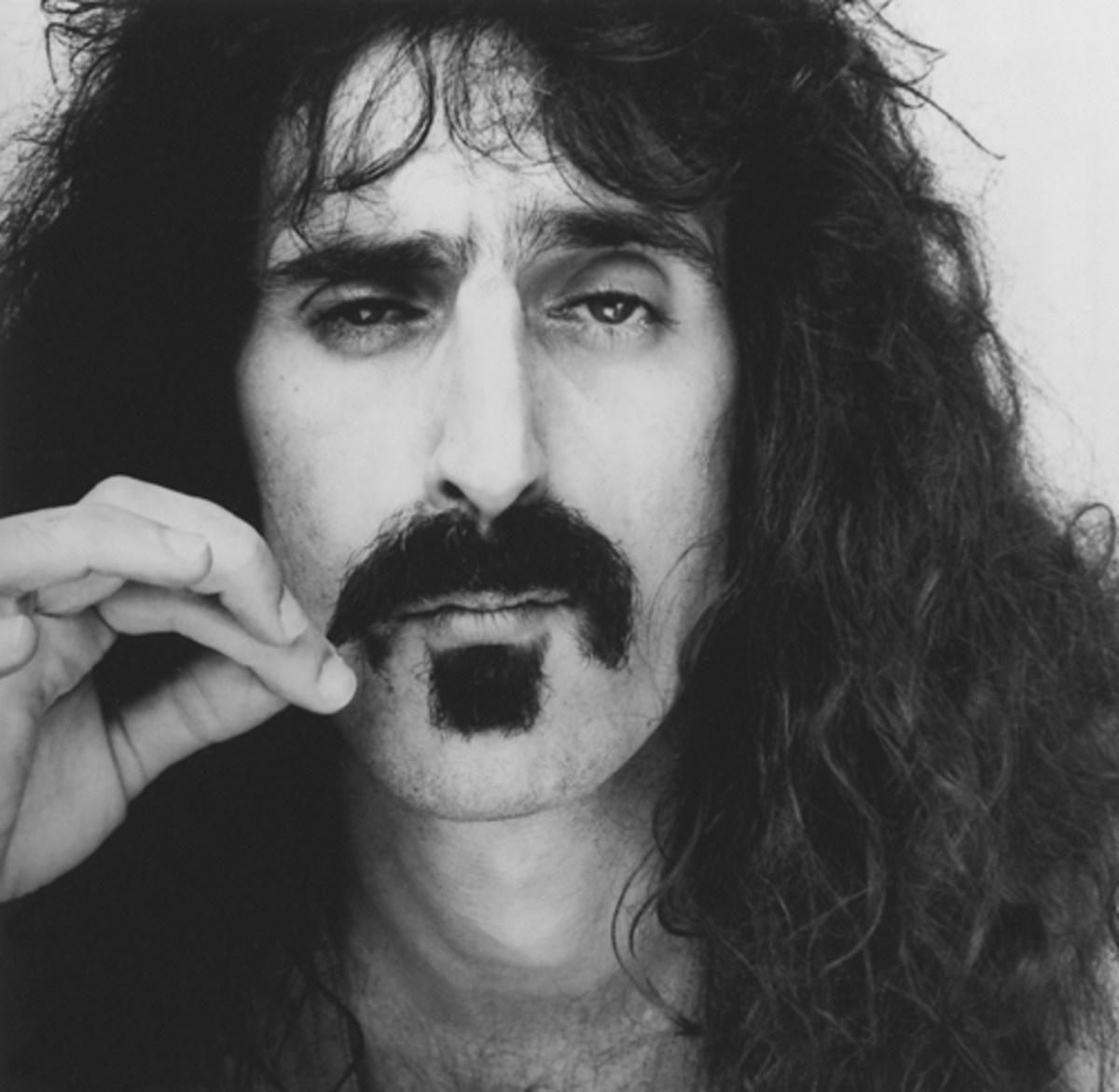 Frank Zappa in 1975. Photo courtesy Ryko/Doug Metzler, 1975