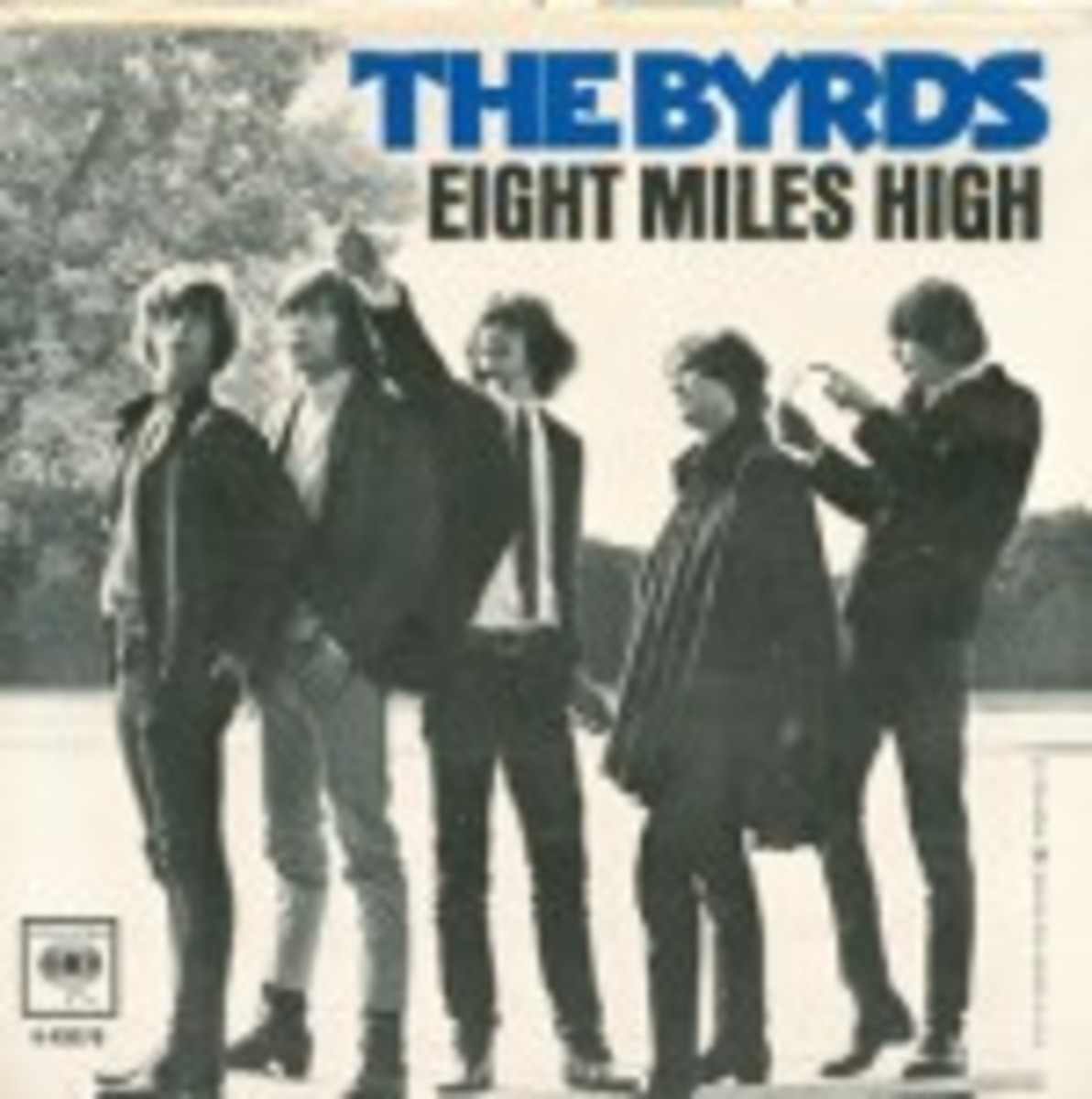 The Byrds Eight Miles High picture sleeve