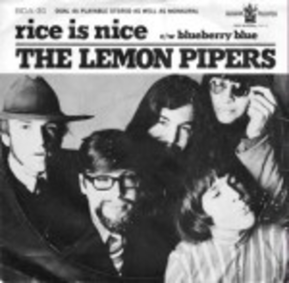 The Lemon Pipers Rice is Nice picture sleeve