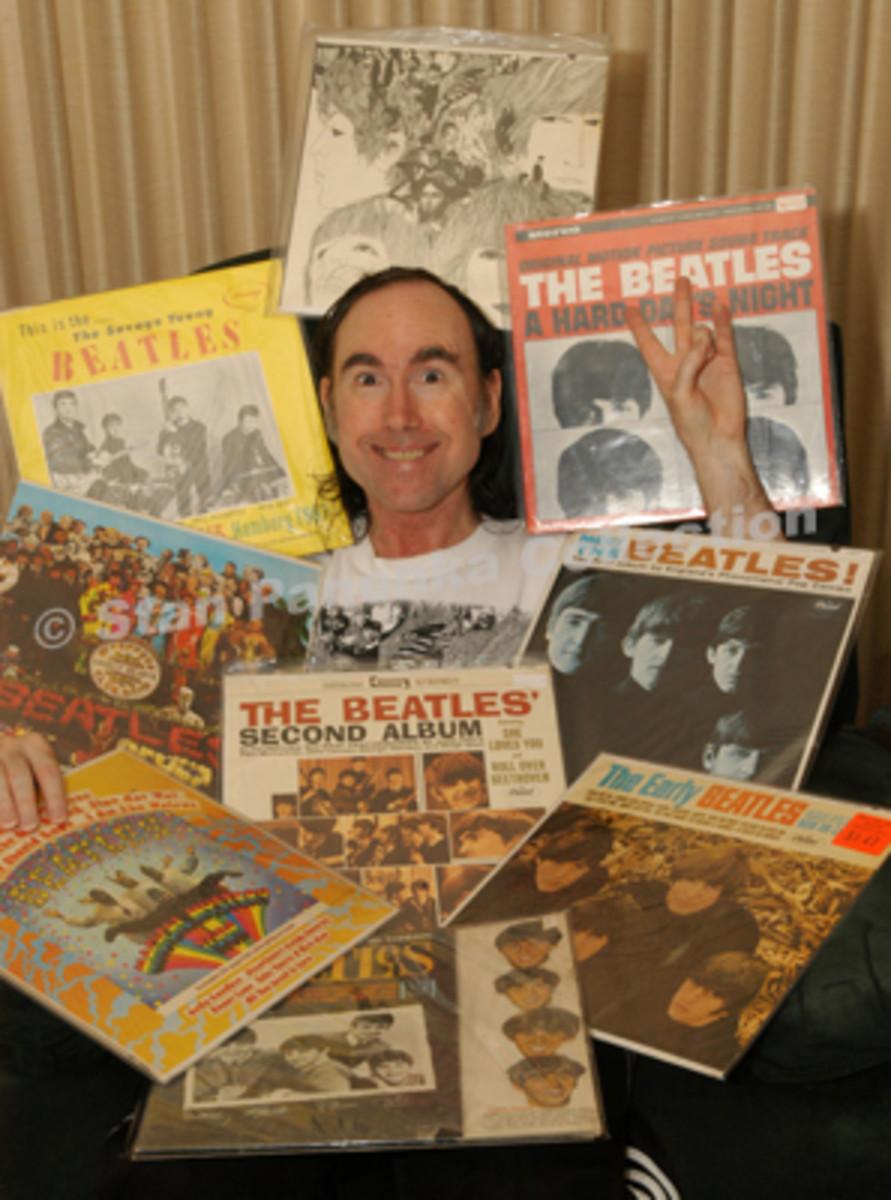 Beatles Collector Stan Panenka