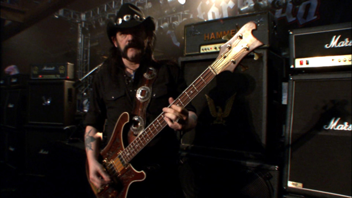 Motorhead Lemmy bass guitar