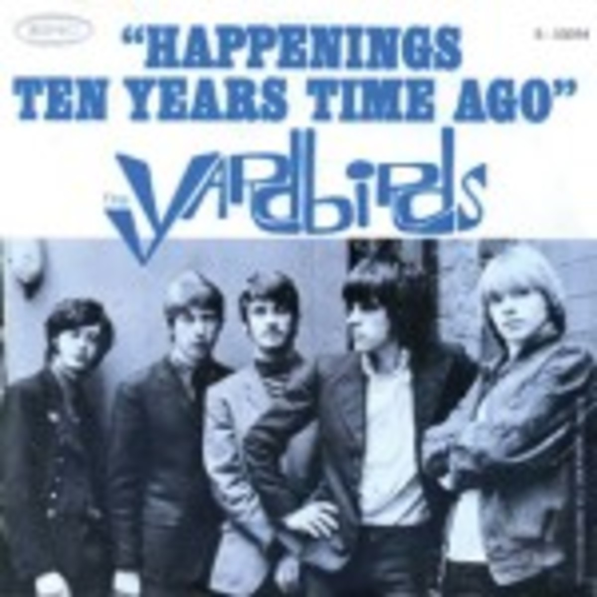 Yardbirds Ten Years Time Ago picture sleeve