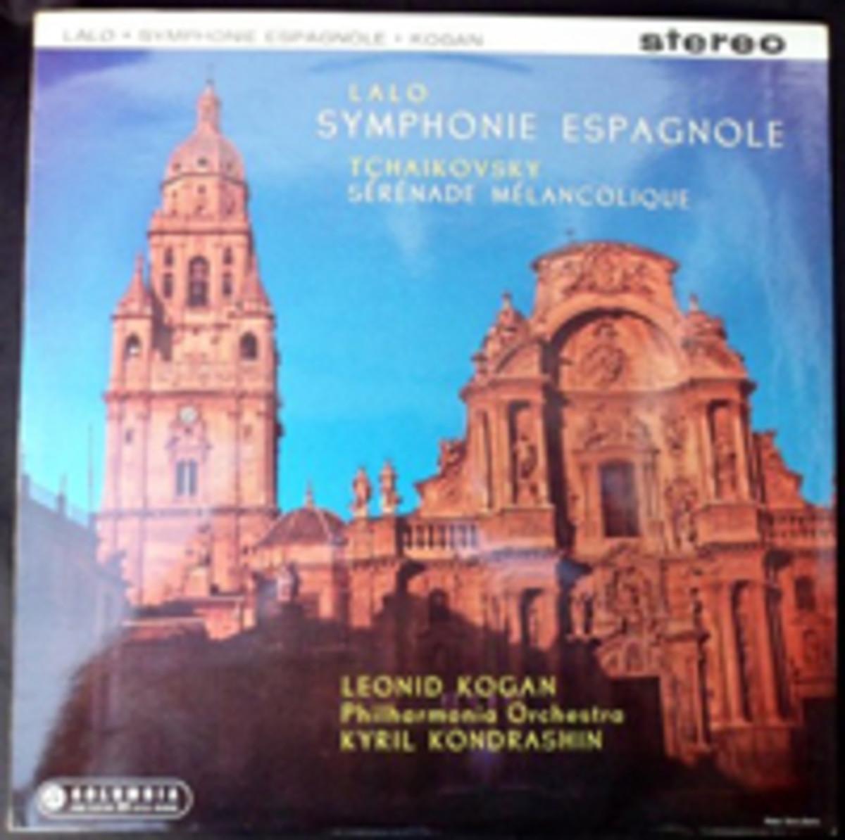 Leonid Kogan Symphonie Espagnole and Serenade Melancolique