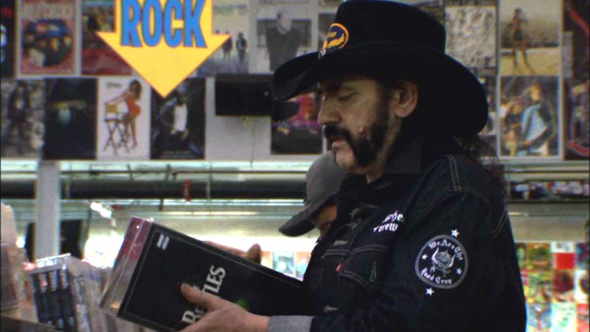 Motorhead Lemmy Amoeba Beatles