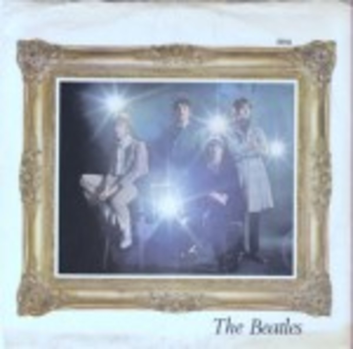 The Beatles Strawberry Fields Penny Lane picture sleeve