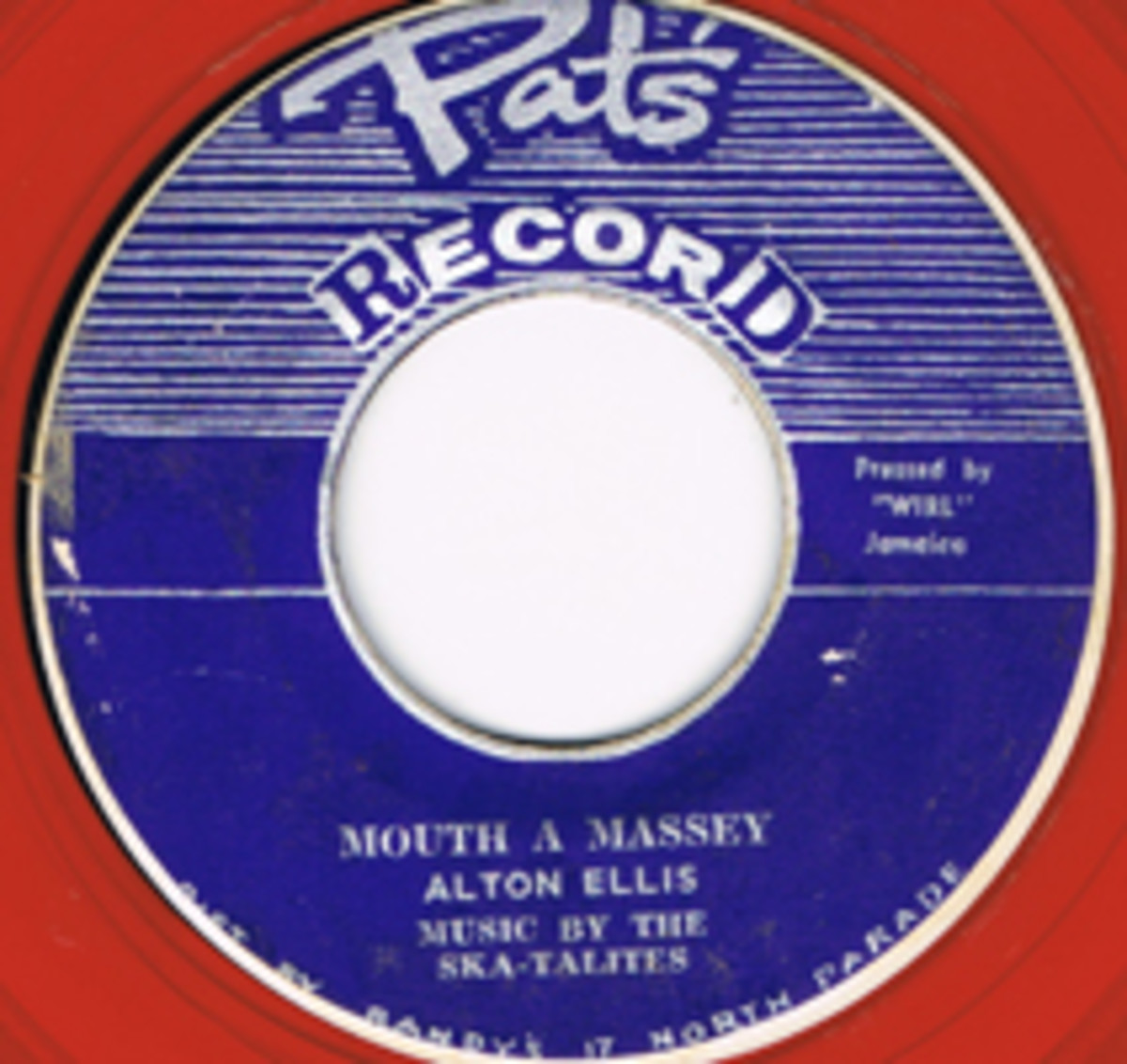 Alton Ellis and the Ska-Talites Mouth A Massey