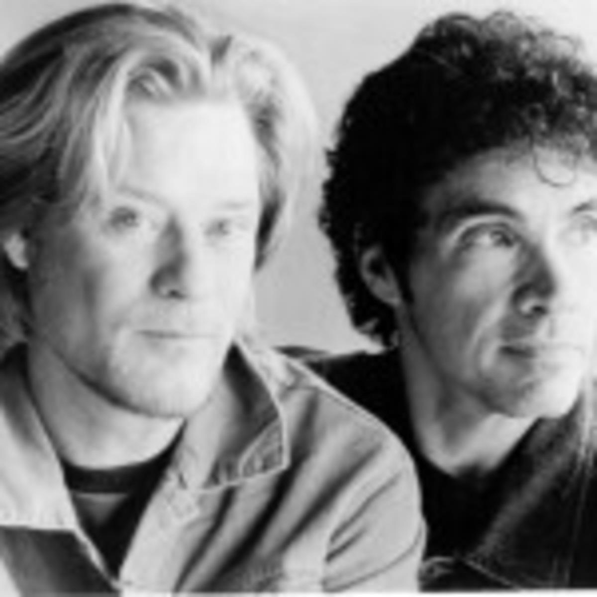 Daryl Hall (left) and John Oates