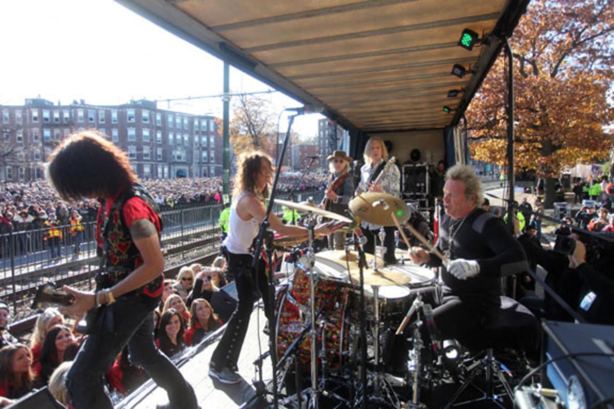 Aerosmith Boston concert