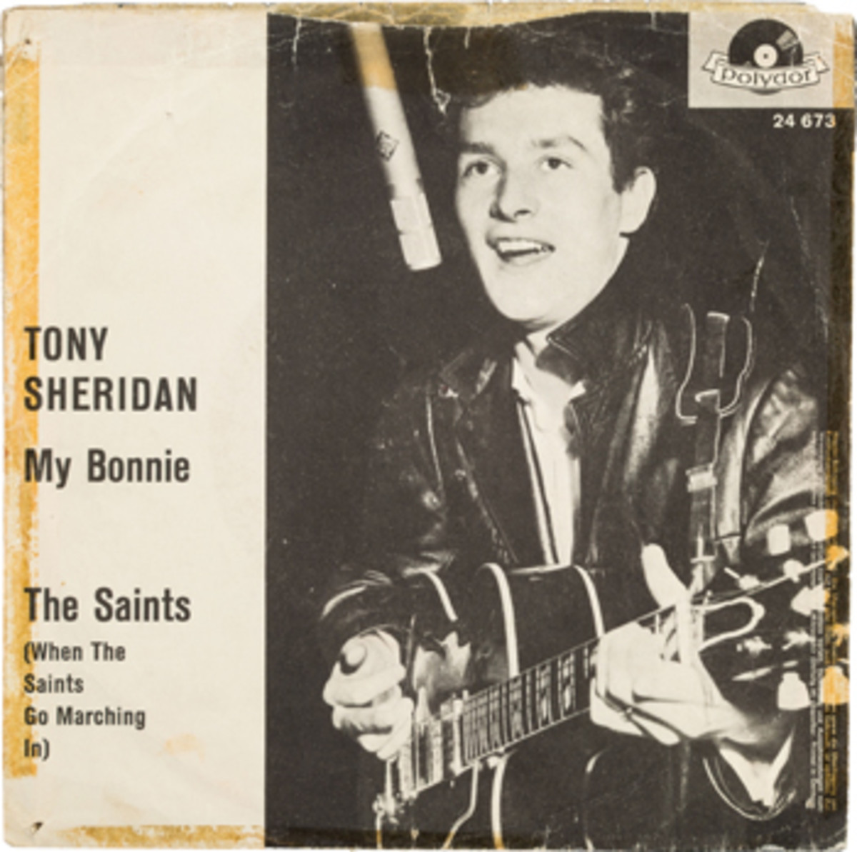 Beatles-Tony Sheridan & The Beat Brothers My Bonnie The Saints German 45 with Picture Sleeve (Polydor NH 24 673, 1962)-2