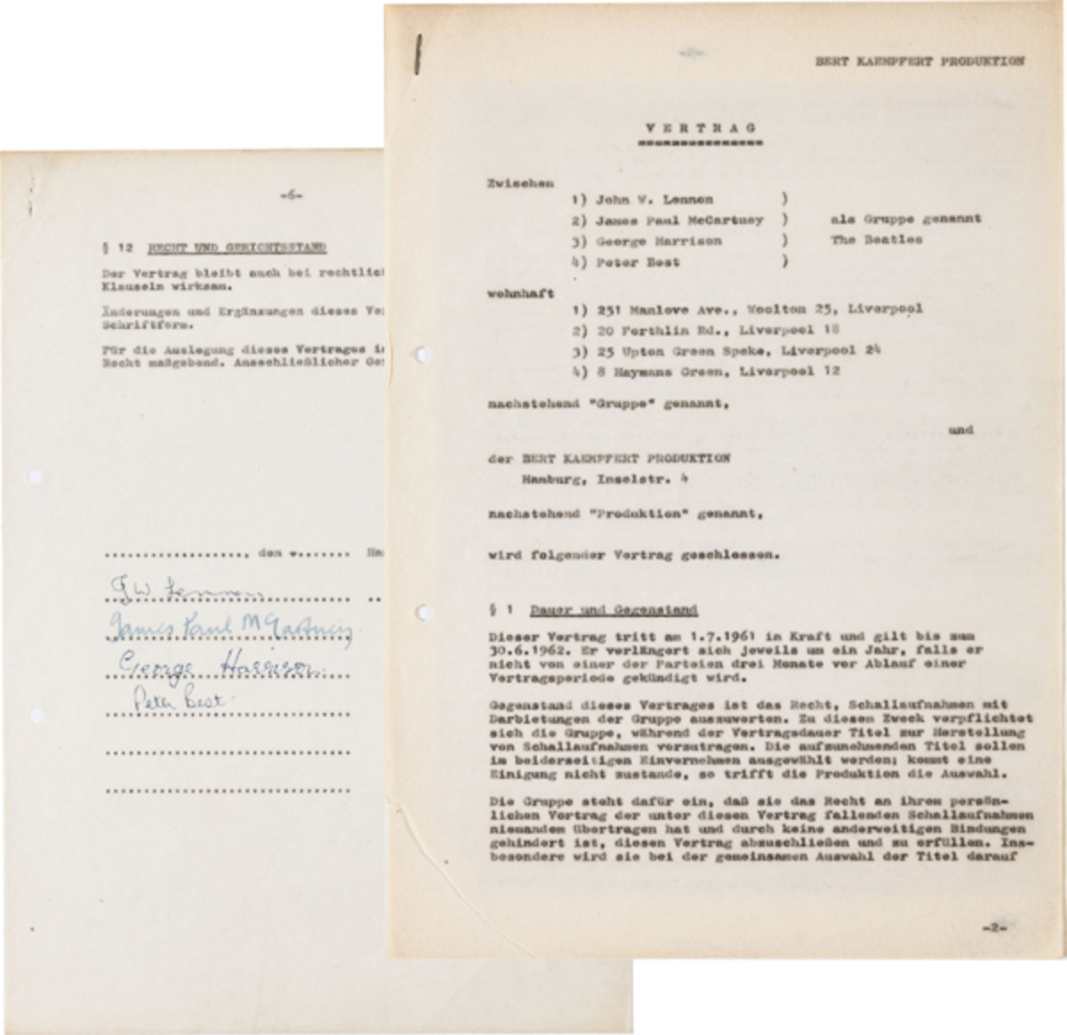 Beatles-Recording-Contract-Heritage-Auctions