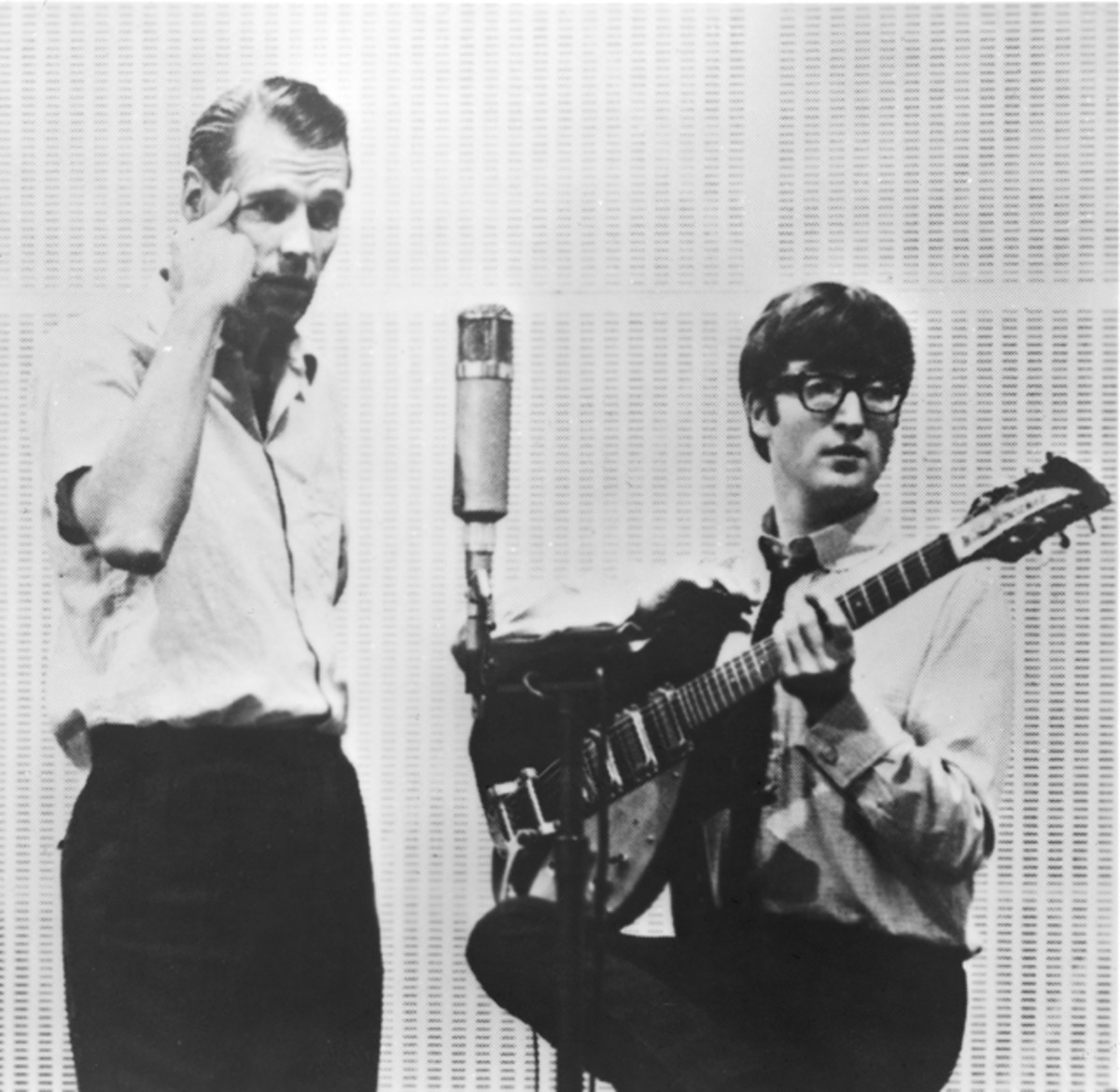 George Martin John Lennon Beatles studio