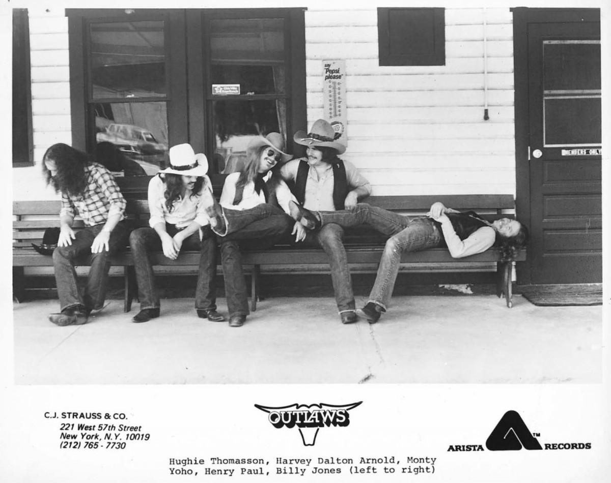 Outlaws publicity photo courtesy Arista Records