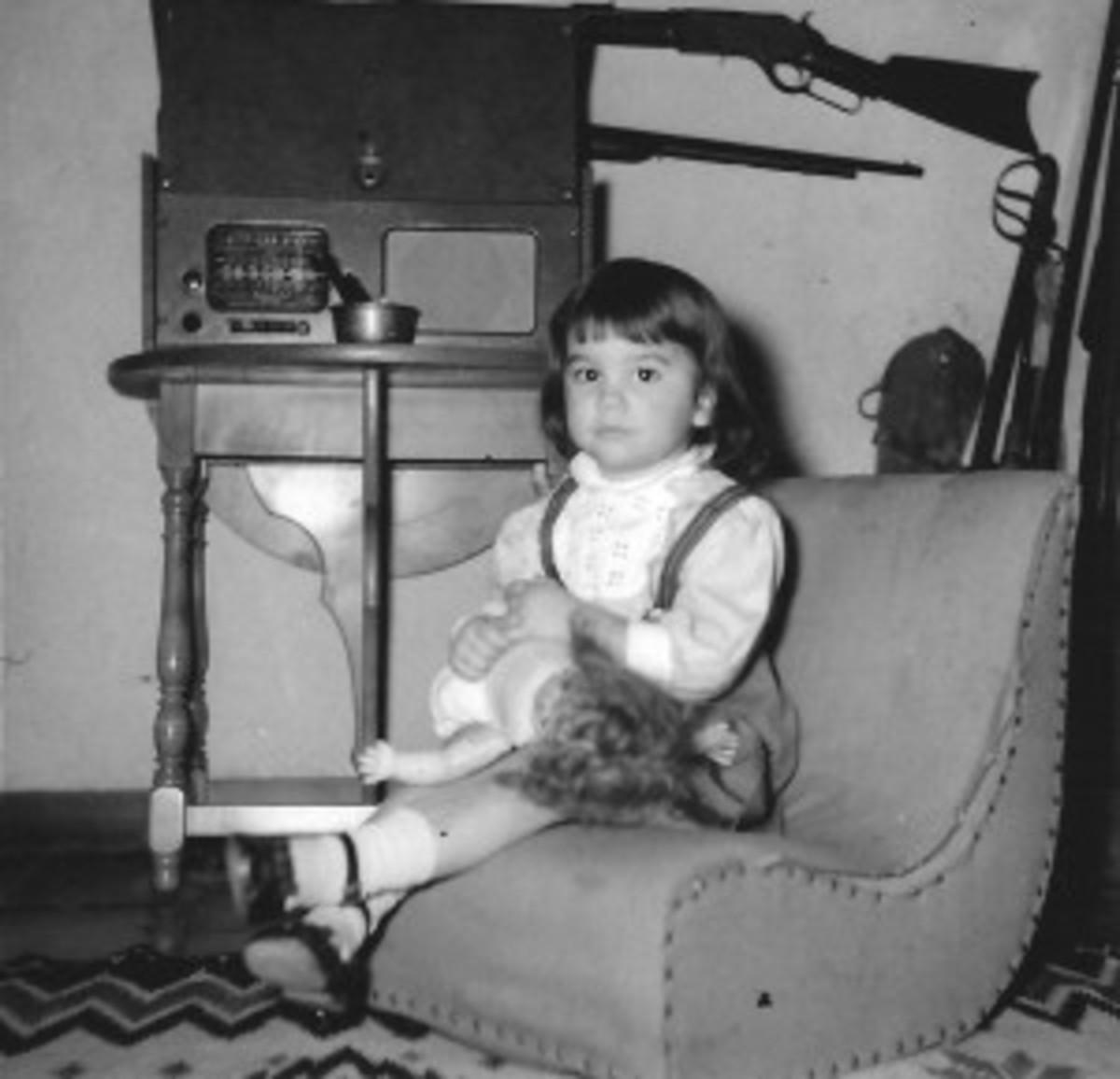 Linda Ronstadt child radio