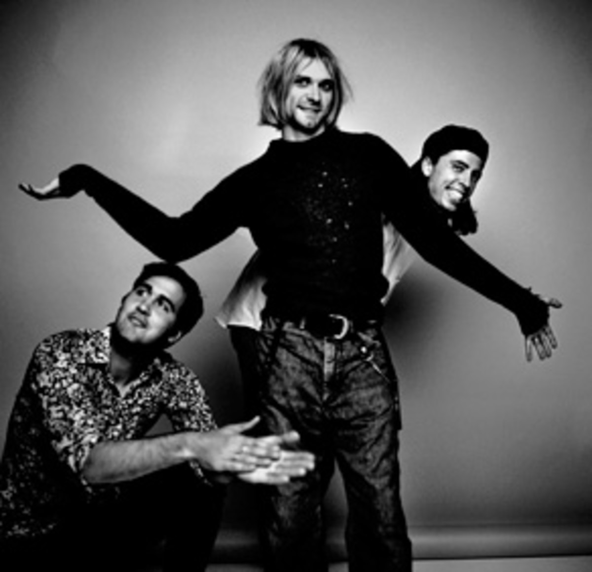 Nirvana. Courtesy Rock And Roll Hall of Fame.