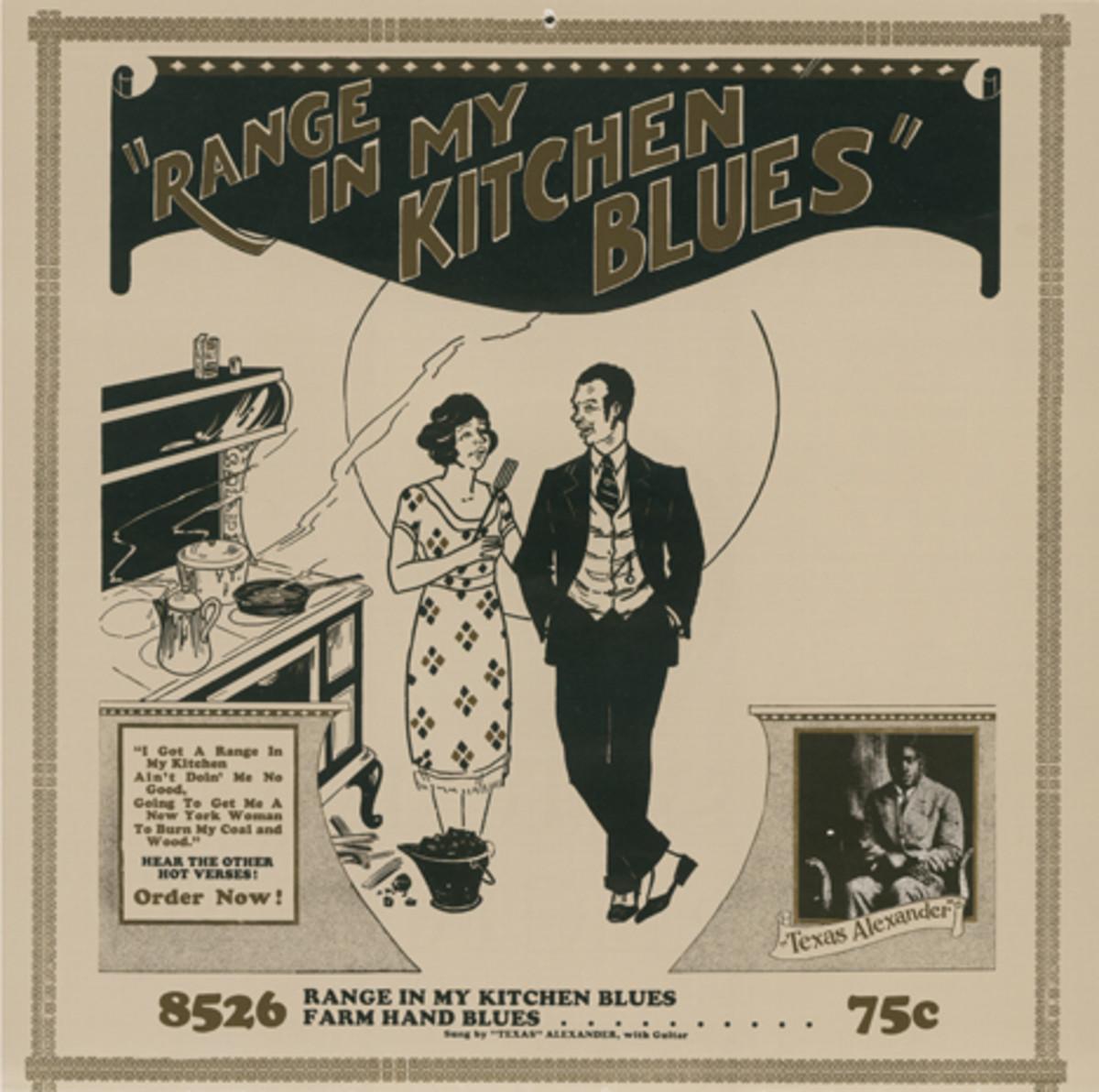 Range In My Kitchen Blues by Alger Texas Alexander