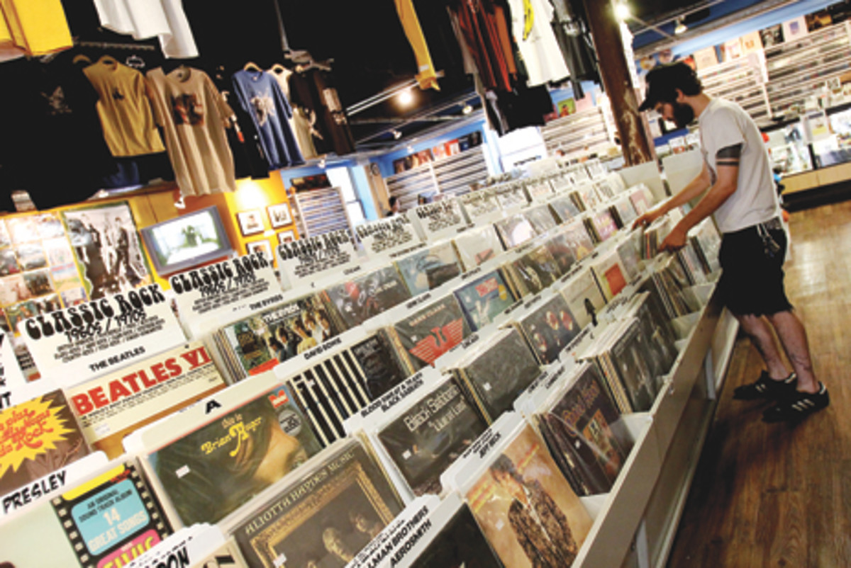 SIREN RECORDS has noticed a resurgence in vinyl record sales over the last few years. Photos courtesy of Siren Records.
