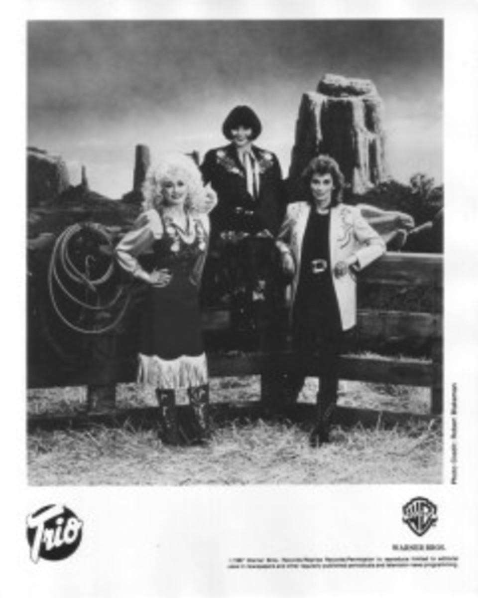 Linda Ronstadt Emmylou Harris Dolly Parton Trio