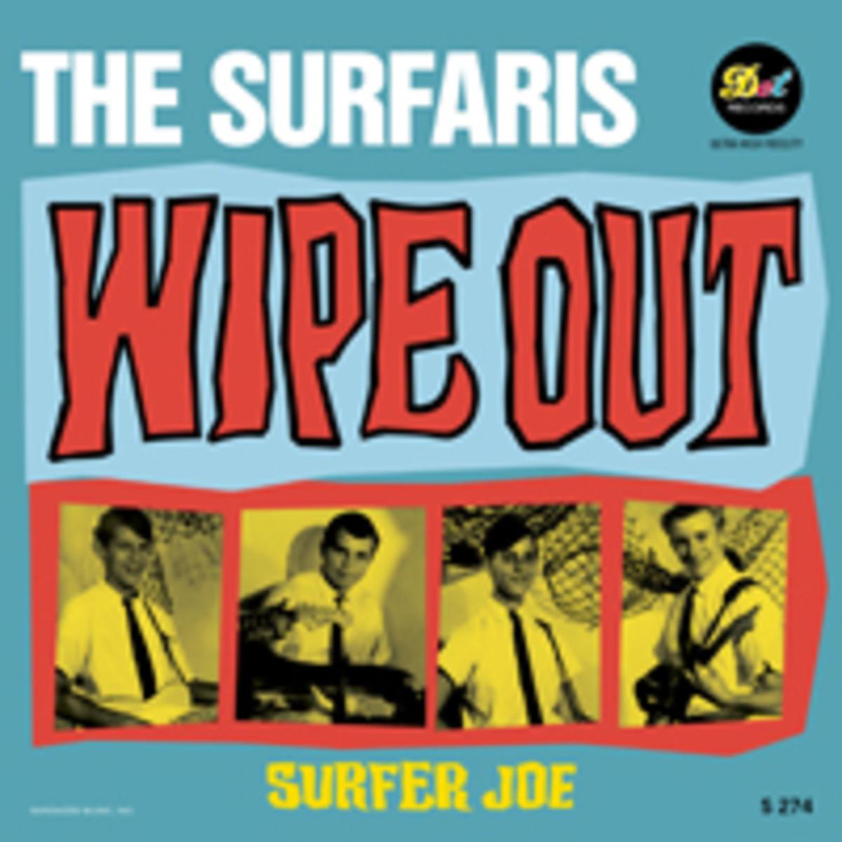 Surfaris Wipe out Surfer Joe Picture Sleeve