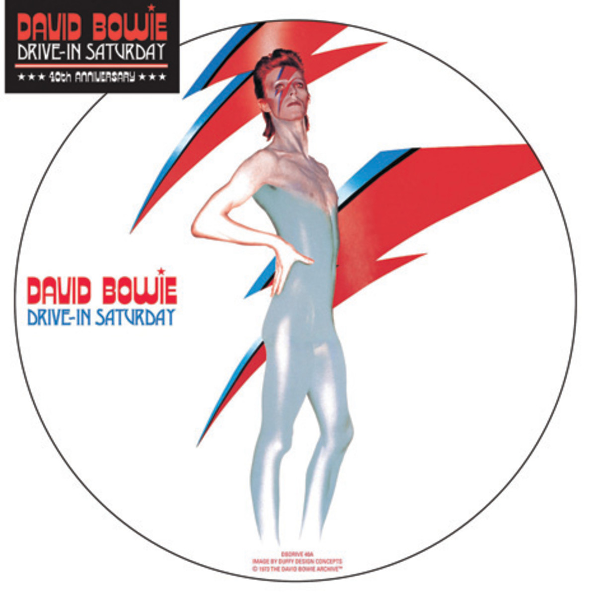 David Bowie Drive In Saturday picture disc 40th anniversary