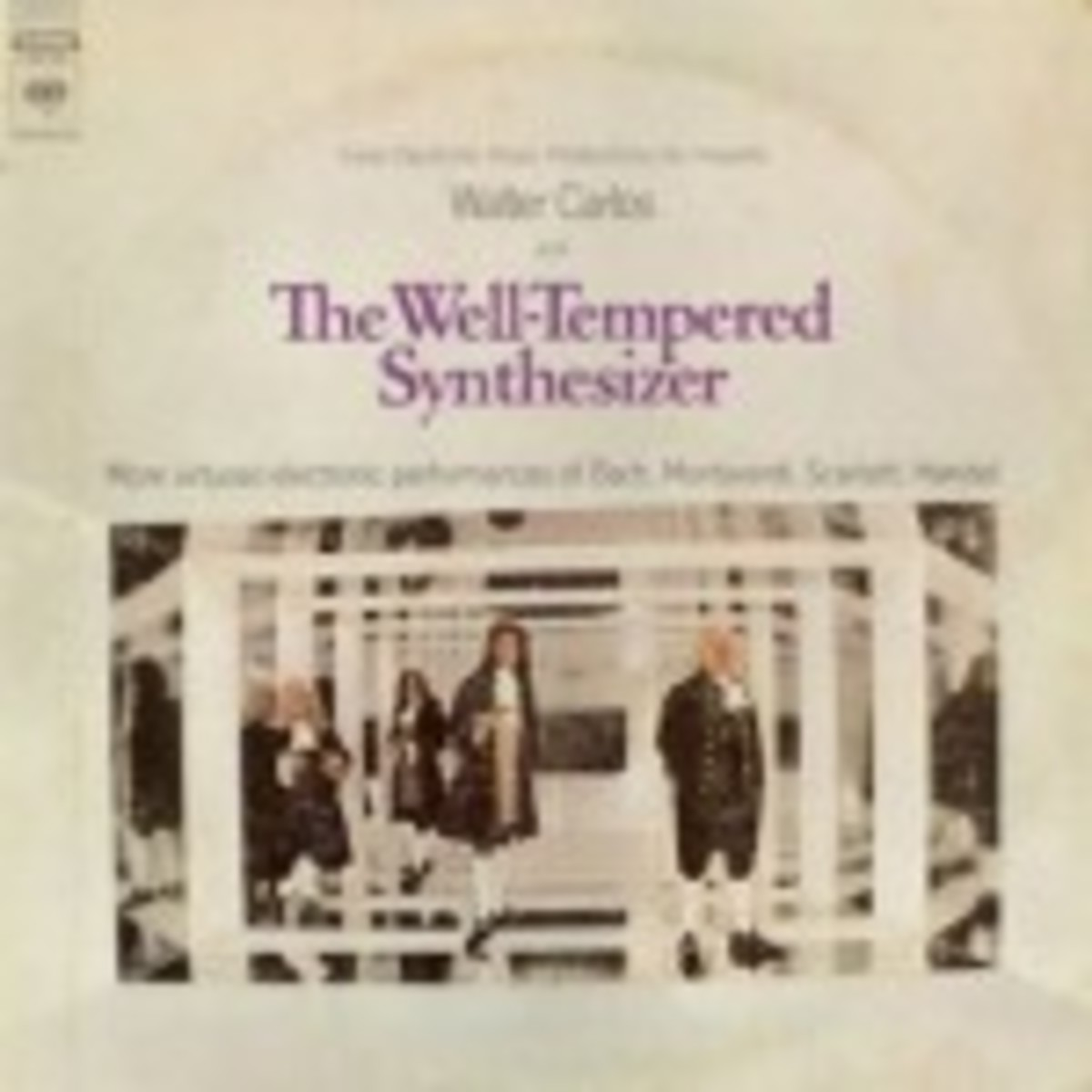 Walter Carlos The Well-Tempered Synthesizer